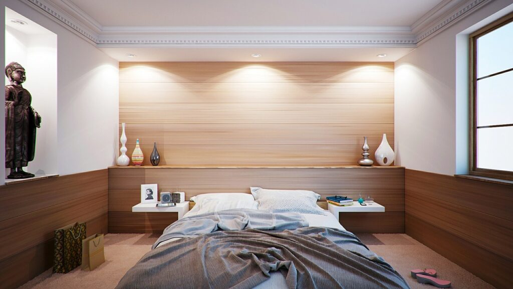 ristrutturazione camera da letto Roma